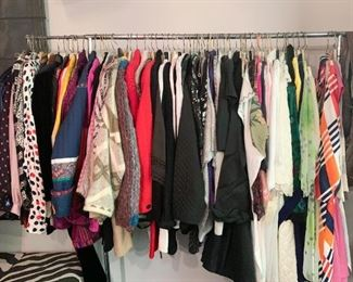 Women's Clothing (Brand New, Newer & Vintage) - A sampling of available items is shown here