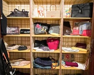 Women's Purses & Handbags (a sampling of available items is shown here)