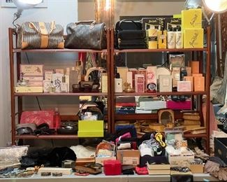 Perfume, Vanity Items, Toiletries, Wallets, Etc.