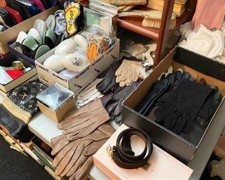 Gloves, Scarves, Belts, Vanity Items, Etc.