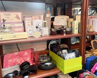 Vanity & Bath Items, Sunglasses, Wallets, Etc.