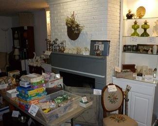 Toys, games, craft supplies