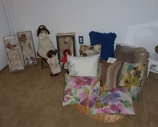 Dolls and Pillows