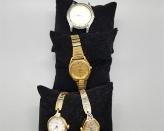 4 Vintage Watches Lot