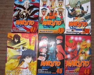 Naruto magazines