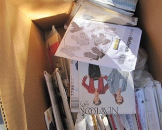 So Many Sewing  Patterns!