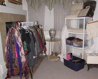 Clothes, shoes, purses, shawls, hats, MORE