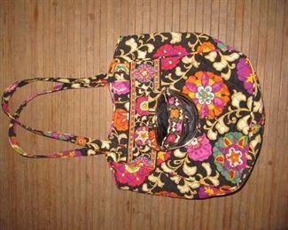 Vera Bradley tote with coin purse