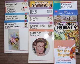 Walter Foster Art books