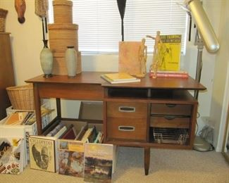 AVAILABLE NOW! $495 Mainline by Hooker floating Mid Century Modern desk