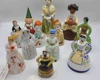 12 Figurine Bells