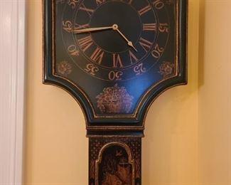 Asian Influenced Wall Clock