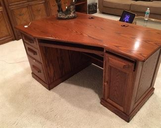 "Office Desk - approximately 55"" x 33"""
