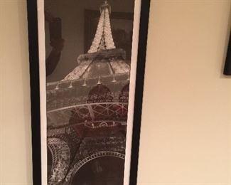 Jim Alinder - Paris - LaTour Eiffel - Z gallerie poster art