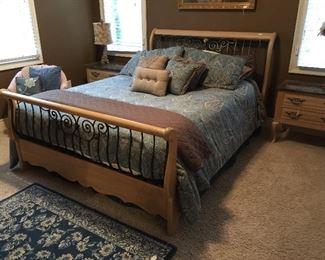 Thomasville Queen Bedroom Suite.  Mattress not for sale.