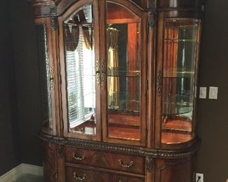 """Schnadig Dining Room Cabinet - approximately 94.5"""" x 66.5"""""""