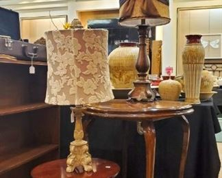 We have some really nice lamps in this sale!