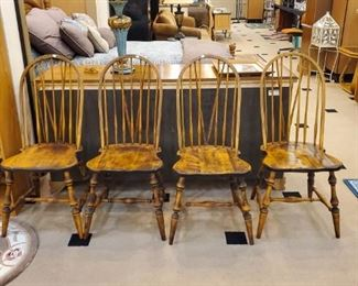 Vintage Windsor Style spindle chairs!