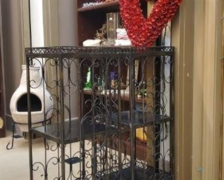 Need a gift for Valentines Day?  They are sporadically placed around the store - due to lack of room!  These metal tables are very nice too.