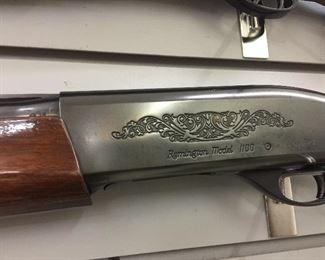 Remington model 1100 12 guge 2 & 3/4 shells - with bag - sharp vey clean!