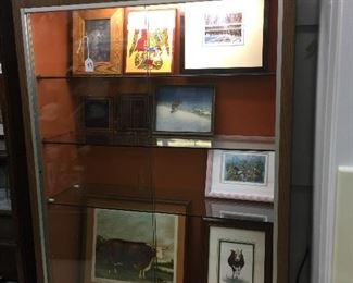 Display case for sale too!