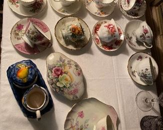 Vintage Teacups FIne Bone China