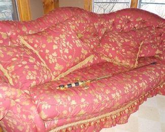 Silk couch