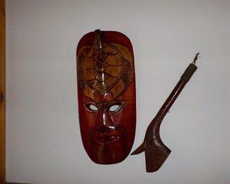 Fujian war mask