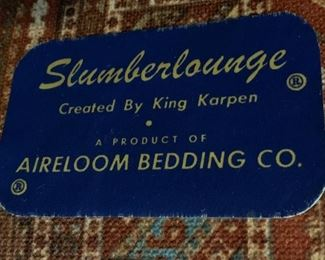 Sleeper Sofa Slumberlounge by King Karpen