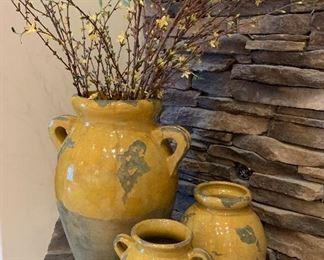 Pottery Barn Tuscan Urns