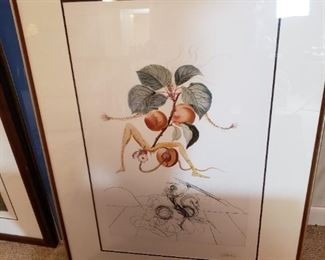 Salvador Dali signed this for our client! Fabulous!