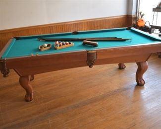 Wilson slate pool table