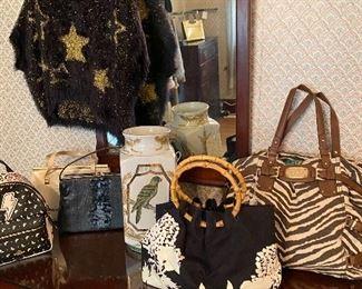 Fabulous vintage & designer bags, etc.