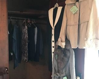 Ladies coats, jackets, etc. New, gently used, vintage...
