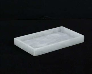 White Marble Table Tray