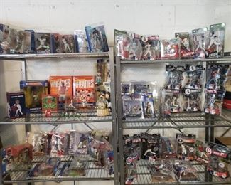 Lot #3 - Huge collection of baseball figures. Go to auction site to see more pictures