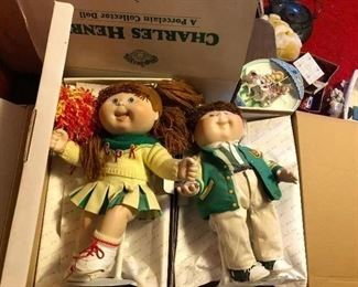 Cabbage patch dolls w/boxes