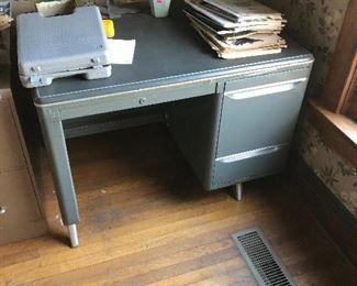 Mid Century desk $25