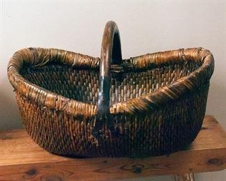 Antique apple basket