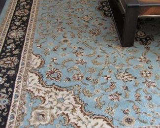 ORIENTAL RUGS ALL OVER THE HOUSE AND GORGEOUS AT THAT..