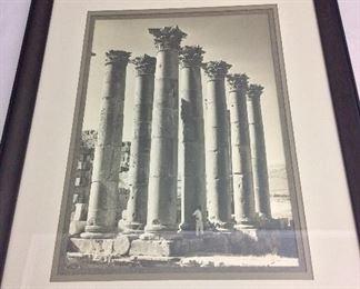 "Columns, 17 1/2"" x 22""."
