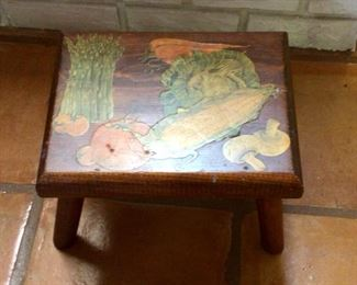 Small kitchen stool