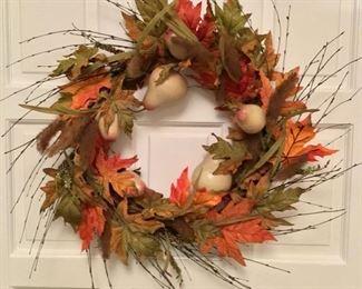 2 Fall wreaths