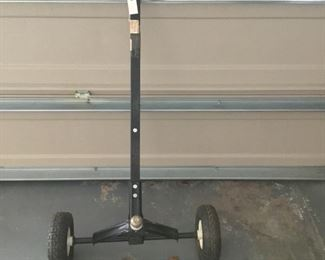 And Trolley for a small trailer