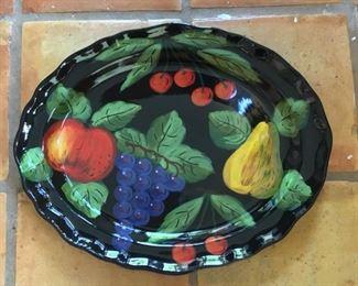 Vietri Large oval serving platter