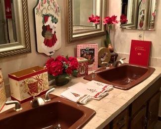 Assorted Christmas home Decour