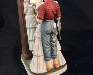 Norman Rockwell Porcelain Figurine Prom Dress.