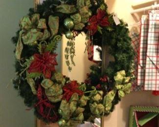 Large Christmas wreath