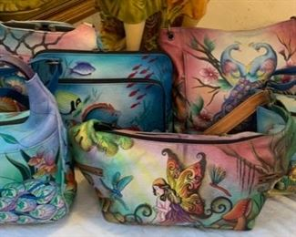 Hand Painted Hand Bags by Anushka