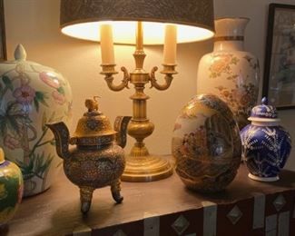 check out these ginger jars and vases